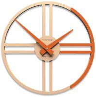 Dizajnové hodiny 10-016 CalleaDesign Gaston 35cm (viac farebných verzií) Farba žltý melón - 62