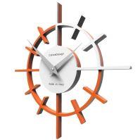 Dizajnové hodiny 10-018 CalleaDesign Crosshair 29cm (viac farebných verzií) Farba antracitová čierna - 4