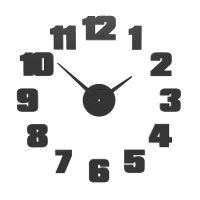 Dizajnové hodiny 10-307 CalleaDesign (viac farieb) Farba grafitová (tmavo šedá) - 3