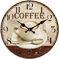 Dizajnové nástenné hodiny 14858 Lowell 34cm