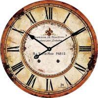Dizajnové nástenné hodiny 14862 Lowell 34cm