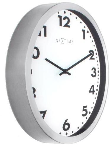 Dizajnové nástenné hodiny 3031 Nextime Magic Stripe 35cm