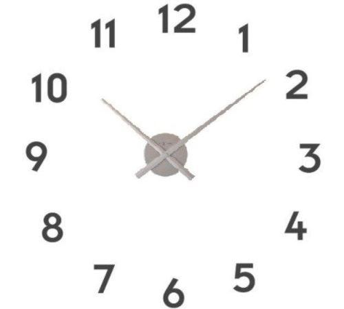 Dizajnové nástenné hodiny 3074zi Nextime Small hands 48cm