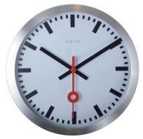 Dizajnové nástenné hodiny 3998st Nextime Station Stripe 19cm