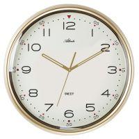 Dizajnové nástenné hodiny AT4469 Atlanta 37cm