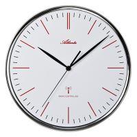 Dizajnové nástenné hodiny Atlanta AT4494 riadené signálom DCF 32cm