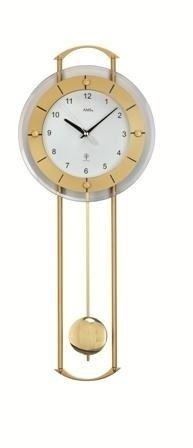 Kyvadlové nástenné hodiny 5255 AMS riadené rádiovým signálom 60cm