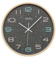 Dizajnové nástenné hodiny 5513 AMS 28cm