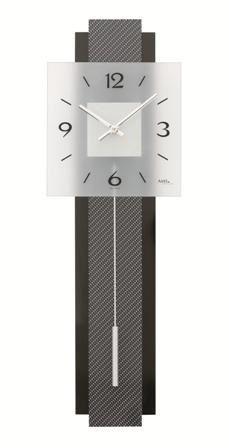 Kyvadlové nástenné hodiny 7313 AMS 68cm