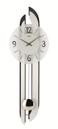 Kyvadlové nástenné hodiny 7330 AMS 71cm