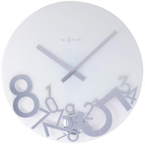 Dizajnové nástenné hodiny 8115 Nextime dropped 43cm