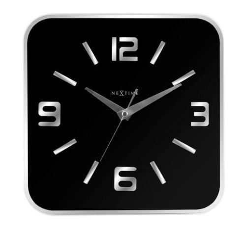 Dizajnové nástenné hodiny 8149zw Nextime Shoko 43cm