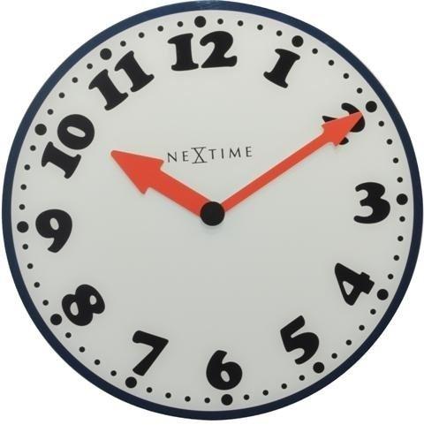 Dizajnové nástenné hodiny 8151 Nextime Boy 43cm