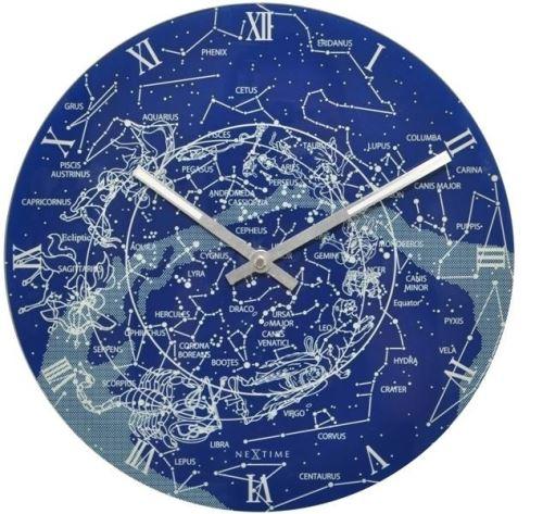 Dizajnové nástenné hodiny 8814 Nextime Milky Way 30cm