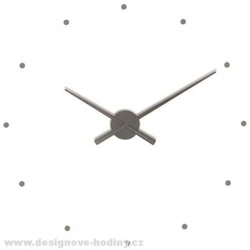 Dizajnové nástenné hodiny Nomon OJ grafitové 50cm