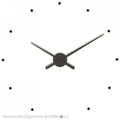 Dizajnové nástenné hodiny Nomon OJ čierne 80cm