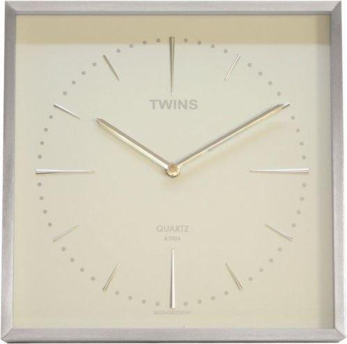 Nástenné hodiny Twins 2904 white 28cm