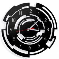 Dizajnové nástenné hodiny Callisto 40cm (viac farieb) Farba tmavo šedá