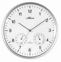 Dizajnové nástenné hodiny AT4363-19 riadené signálom DCF