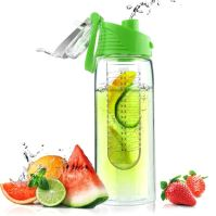 ASOBO dizajnová fresh fľašu s Infuser Flavour It limeta 600ml