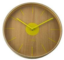 Dizajnové nástenné hodiny CL0065 fisúry 30cm