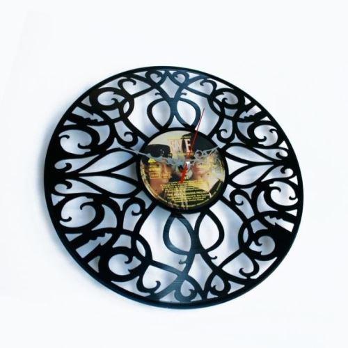 Dizajnové nástenné hodiny Discoclock 011 Deco 30cm