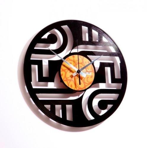 Dizajnové nástenné hodiny Discoclock 015 Geometry 30cm