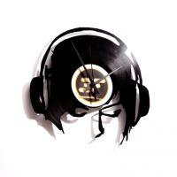 Dizajnové nástenné hodiny Discoclock 030 DJ Ane @ work 30cm