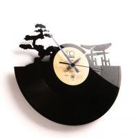 Dizajnové nástenné hodiny Discoclock 043 Sunset 30cm