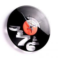 Dizajnové nástenné hodiny Discoclock 049 I'll never work 9 to 5 again 30cm