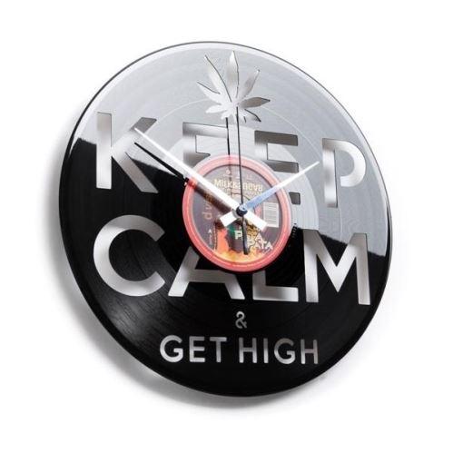 Dizajnové nástenné hodiny Discoclock 054 Konope 30cm