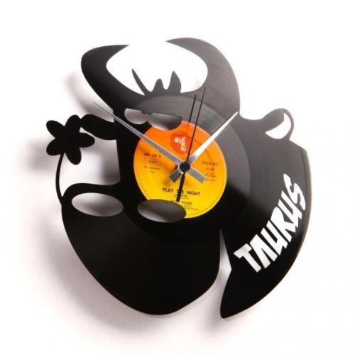 Dizajnové nástenné hodiny Discoclock Z02 Býk 30cm