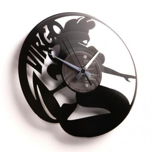 Dizajnové nástenné hodiny Discoclock Z06 Panna 30cm