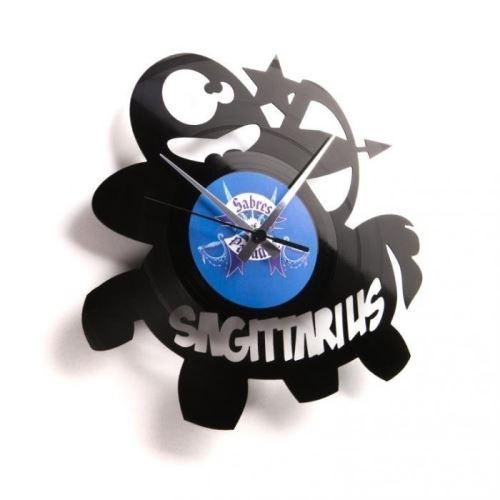 Dizajnové nástenné hodiny Discoclock Z09 Strelec 30cm