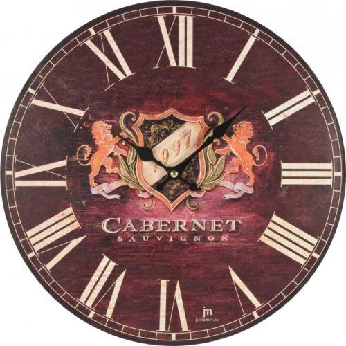 Dizajnové nástenné hodiny Lowell 21428 Clocks 34cm