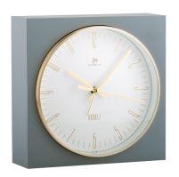 Stolové hodiny s funkciu budíka JA7070G Lowell 16cm