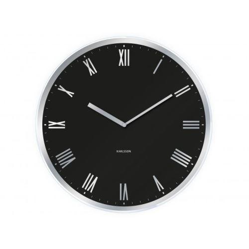 Dizajnové nástenné hodiny 5423BK Karlsson 40cm