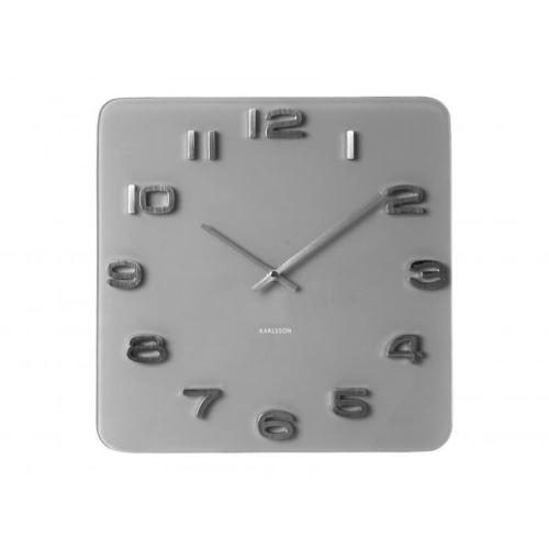 Dizajnové nástenné hodiny 5488GY Karlsson 35cm