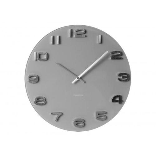 Dizajnové nástenné hodiny 5489GY Karlsson 35cm