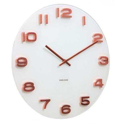 Dizajnové nástenné hodiny 5534 Karlsson 35cm