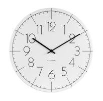 Dizajnové nástenné hodiny KA5592WH Karlsson 40cm