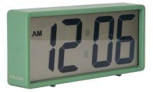 Digitálne stolové i nástenné hodiny / budík 5646GR Karlsson 18cm