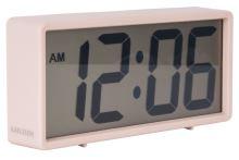 Digitálne stolové i nástenné hodiny / budík 5646PI Karlsson 18cm