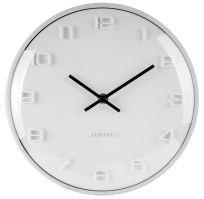 Dizajnové nástenné hodiny 5649WH Karlsson 25cm