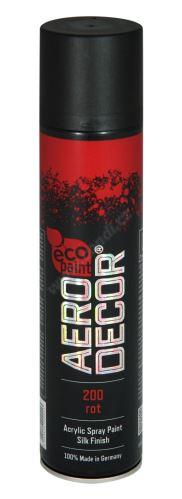 Farba v spreji 400ml AERO DECOR - červená 200