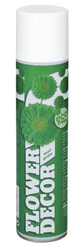 Farba v spreji na živé kvety 400ml FLOWER DECOR - zelená 15701
