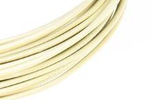 Dekoračné drôt hliníkový - vanilkový