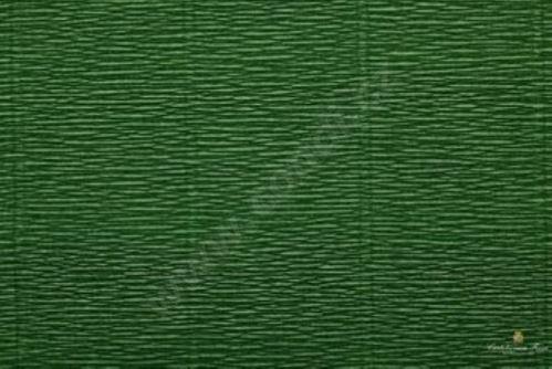 Krepový papír role 50cm x 2,5m - listově zelený 591