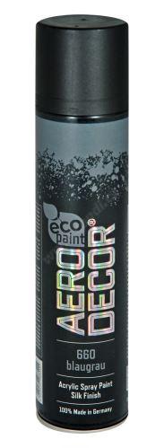 Farba v spreji 400ml AERO DECOR - tmavo šedá 660