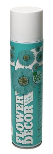 Farba v spreji na živé kvety 400ml FLOWER DECOR - aquamarinová 14001